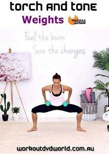 strength training dvd  barlates body blitz torch and tone