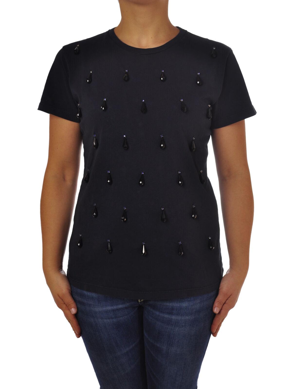 Rosao - Topwear-T-shirts - Frau - Blau - 4777826F184701