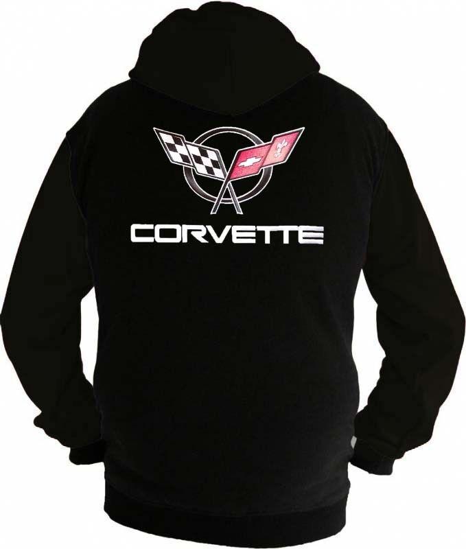 Corvette C5 Racing Fan Kapuzenjacke Sweatshirt  Hoodie Lieferz. ca. 8 Tage
