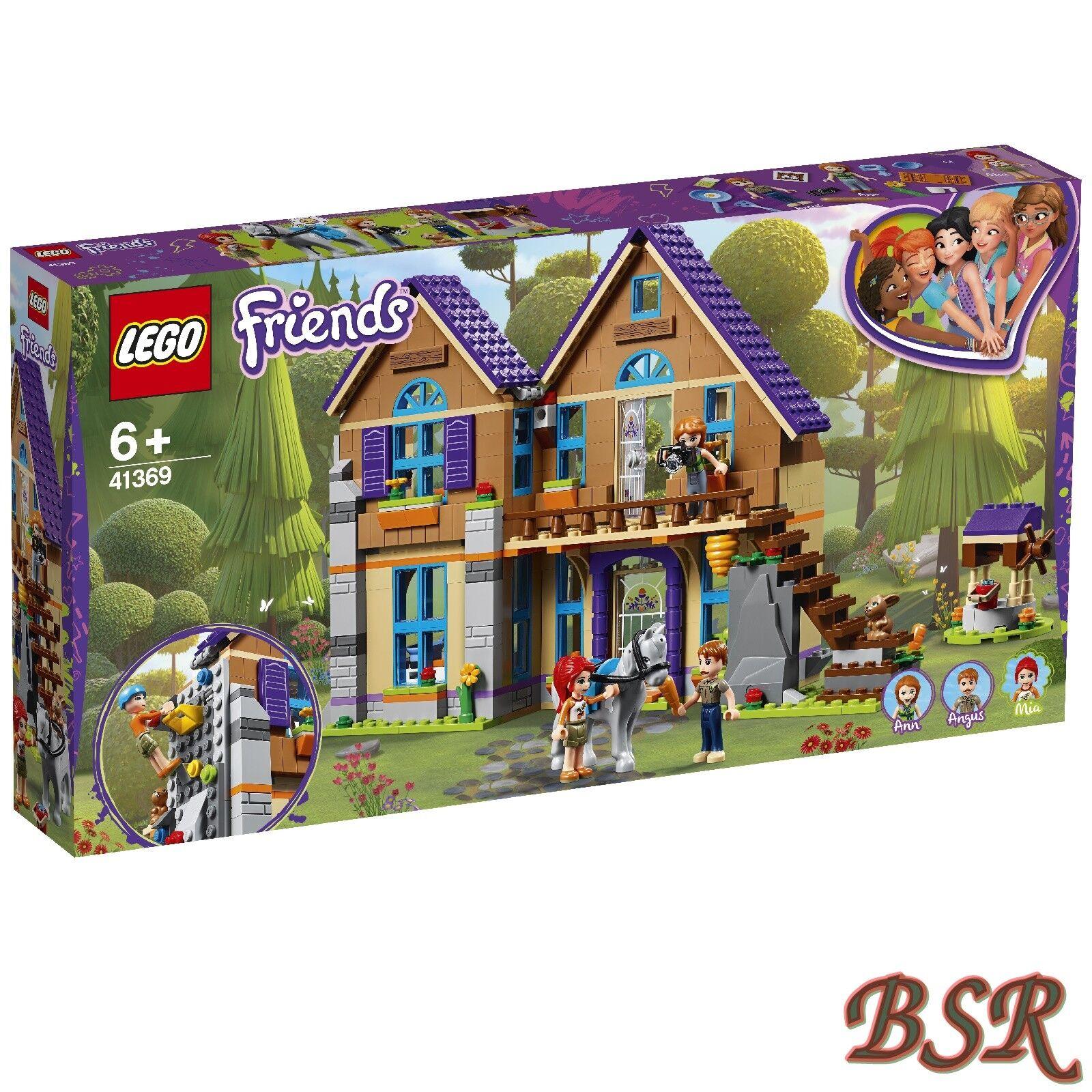 LEGO ® Friends  41369 Mias MAISON AVEC CHEVAL & 0. - expédition & NOUVEAU & NEUF dans sa boîte