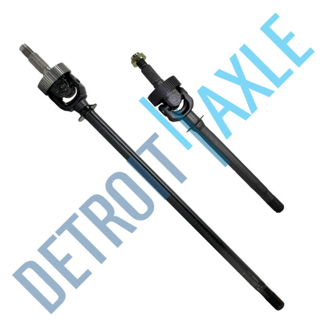 Both (2) New Front Axle Shaft U Joint Jeep Grand Cherokee Wagoneer 4WD ABS