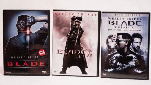 Blade 1+2+3 komplett alle Teile [DVD] FSK 18 - Wesley Snipes