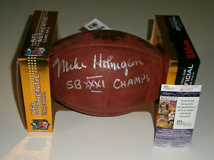 PACKERS-Mike-Holmgren-signed-Super-Bowl-XXXI-football-w-SB-Champs-JSA-COA-AUTO