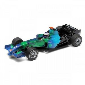 Scalextric-C2817-HONDA-F1-2007-034-Earth-Car-034-Jenson-Button-Brand-New-Boxed