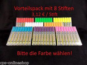 Illumigraph-Kreidestift-2-6-mm-Spitze-Vorteilspack-8-Stifte-Farbe-waehlen-ZIG