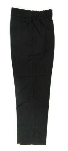 Boys School Uniform Pull Up Elasticated Adjustable Slim Skinny Fit Trousers