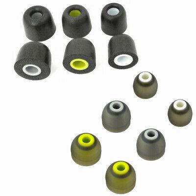 Sport Ear Memory Foam Ear Tips gel and Ear Fins Set For Jaybird Bluebuds X X2