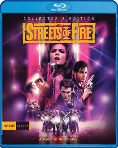 Streets-of-Fire-Collector-039-s-Edition-New-Blu-ray-Collector-039-s-Ed-Widescreen