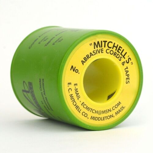 0.070 X 50 Ft. 180 Grit 50 Mitchell/'s Abrasive Emery Cords No