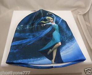 Disney-frozen-elsa-in-her-famous-stance-winter-warm-blues-Hat-cap-beanie-xmas