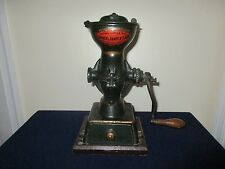 Antique Landers Frary & Clark Cast Iron Coffee Mill Grinder #11 New Britain Conn