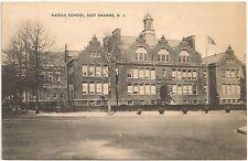 Nassau School in East Orange NJ Postcard