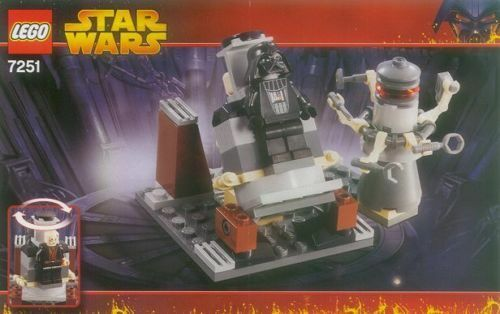 LEGO 7251 - STAR STAR STAR WARS - Darth Vader Transformation - 2005 - NO BOX 4b101c