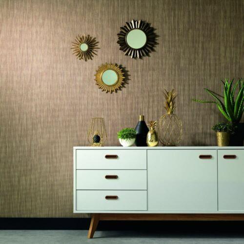 Erismann Geometric Stripe Pattern Wallpaper Snake Skin Print Effect Textured