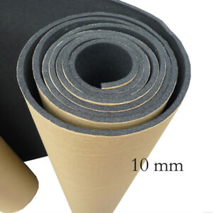 1 X Car Sound Proofing Deadening Insulation 10mm Closed Cell Foam 300X50cm SM