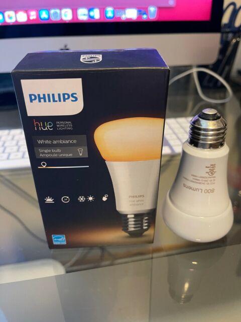 Philips Hue White Ambience A19 Bulbs 800 Lumens