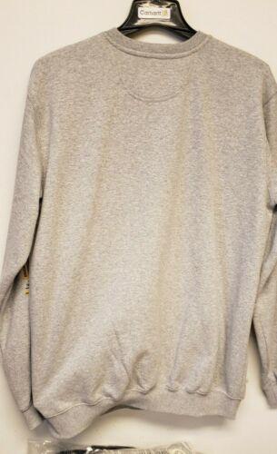 Carhartt 103853-HGY Midweight Block Logo Crewneck Tall Sweatshirt