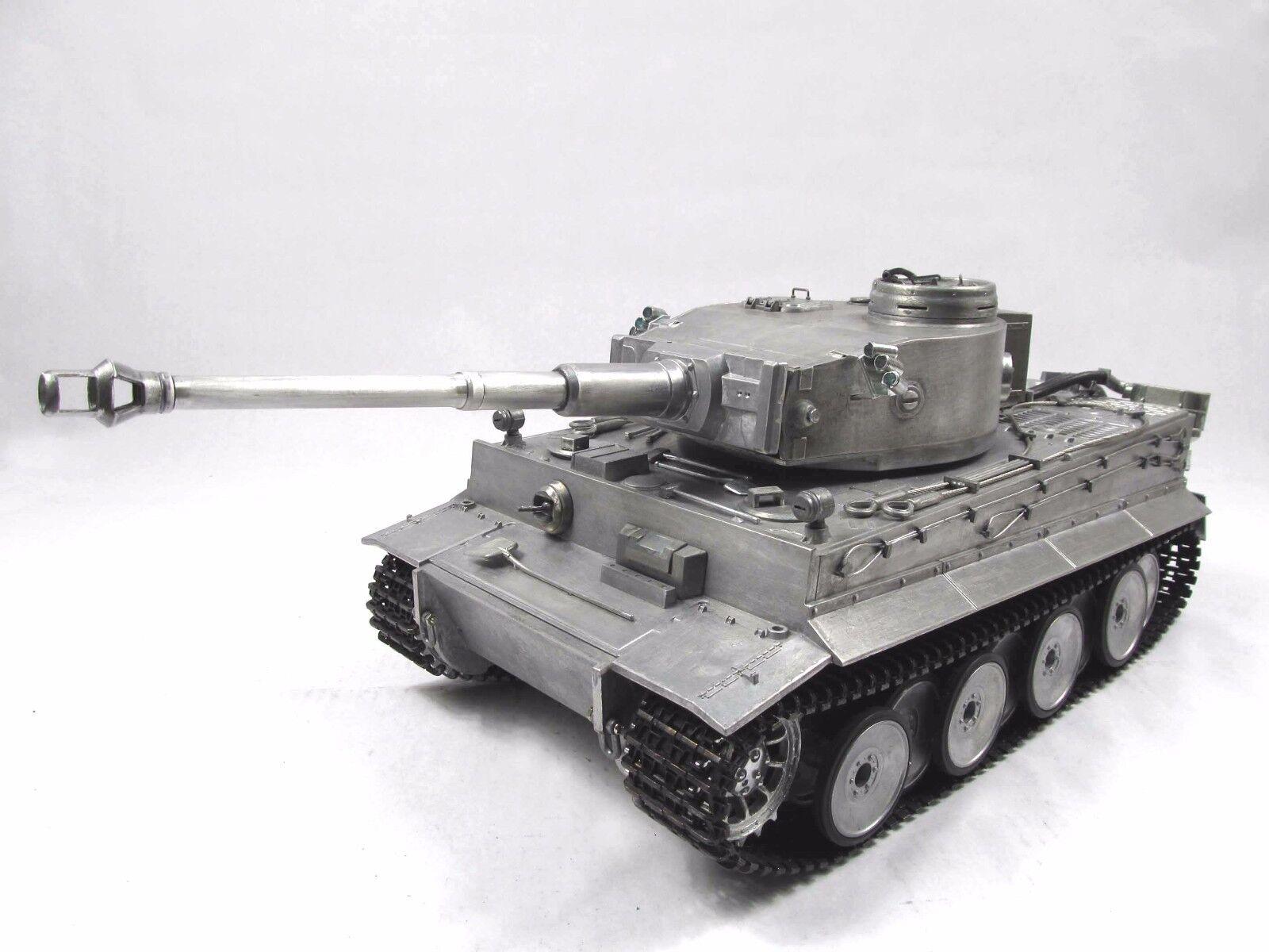Complete Metal 1 16 Mato Tiger I KIT Version BB Pellet RC Tank Metal color 1220