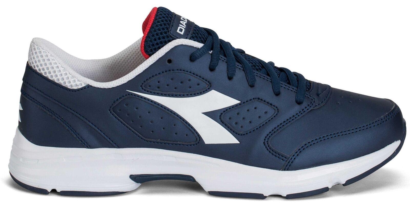 Diadora Scarpa Running Sneaker Jogging men Shape 7 sl Saltire navy white shoes