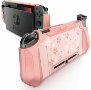 For Nintendo Switch Console Joy-Con, Mumba Dockable Case Grip Cover Back Shell