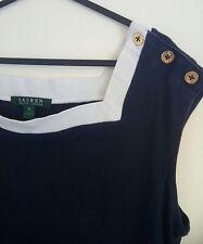 ralph lauren nautical vest top