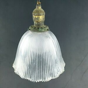 Antique-1900s-Victorian-Ceiling-Pendant-Pull-Chain-Glass-Light-Fixture-by-Bryant