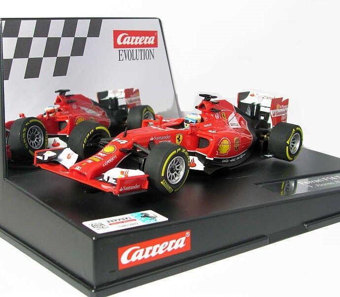 Carrera 27496 Ferrari F14 T Fernando Alonso Evolution Analog Slot Car 1 32