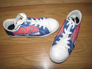 Image is loading Girls-NY-Giants-Sneakers-3-European-18-EUC d5ed01ce0071