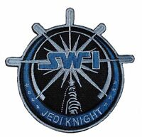 Star Wars Jedi Knight Lightsaber Sw1 Logo 4 1/4 Tall Embroidered Patch