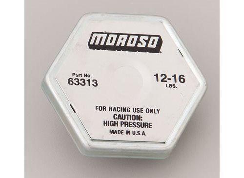 Moroso 63313 Radiator Cap Steel Moroso Logo Octagon 13 psi