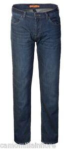Vita Droite Jeans Faible En Classique 48 Medium Bleu Taille Jambe x6q7qA4