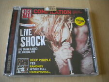 Live shock	CD	2003	Yes Stereophonics Ramones Deep Purple Jethro Tull Siouxsie &
