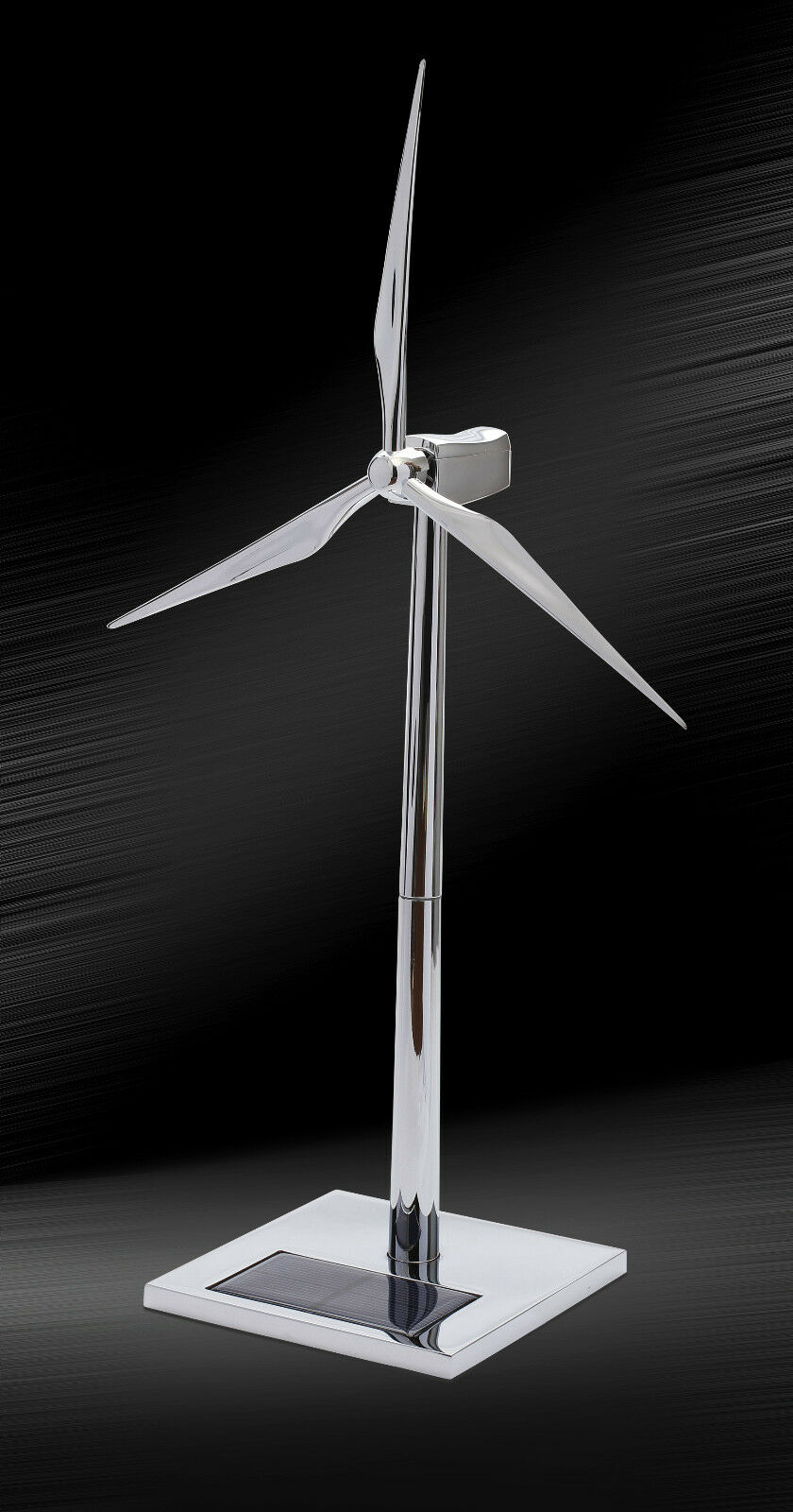 FC09 FC10  Free Shipping Desktop Model-Solar Powered Wind Turbine&Zinc alloy