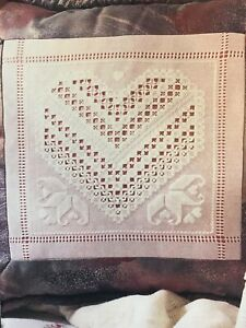 ROSE WELCOME CROSS STITCH PATTERN ONLY  HM RYR