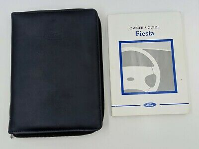 FORD FIESTA HANDBOOK OWNERS MANUAL WALLET 1999-2001 PACK B-342