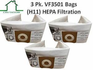 3-Replacements-HEPA-Ridgid-VF3501-3-4-5-Gallon-Wet-Dry-Vacuum-Bags-Part-VF3501