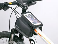 Roswheel Uk Large Mobile Phone Double Frame Bag Top Tube Bike Bicycle 12813l-a2