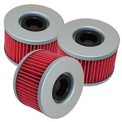 3 Pack Oil Filter FITS HONDA 300 EX TRX300EX TRX300X FOURTRAX SPORTRAX 1993-2009