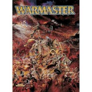 Warmaster Livret, Warhammer, Excellent état-Épuisé-afficher Le Titre D'origine La DernièRe Mode