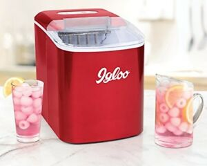 Igloo Iceb26rr 26 Pound Automatic Portable Countertop Ice