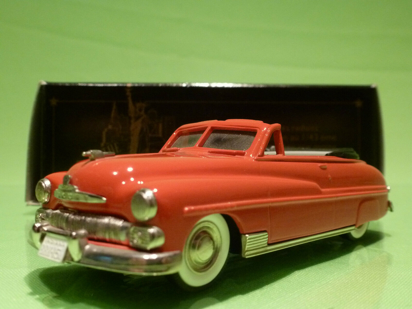 BROOKLIN MODELS BRK 15a MERCURY CONVERTIBLE 1950 - rouge - 1 43 - NMIB
