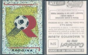 574 CALCIATORI PANINI 1998-99 Figurina-Sticker n punto-New REGGINA SCUDETTO