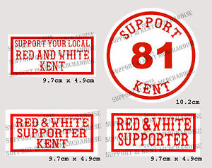 SUPPORT-81-KENT-HELLS-ANGELS-ENGLAND-Large-Glossy-Stickers-BIG-RED-MACHINE-WORLD