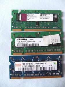 1-GB-RAM-Arbeistspeicher-PC2-6400S-666-DDR2-800MHz-Hynix-Samsung-Kingston-u-a