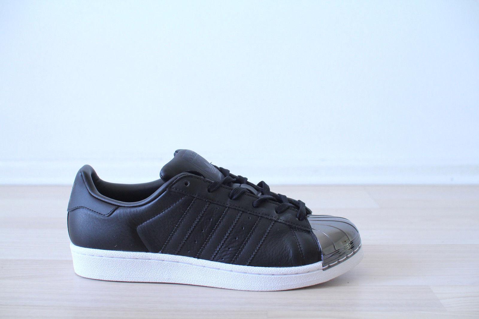 Adidas Superstar Metal Toe W black white Gr. 38,39,40 NEU & OVP