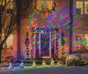 Gemmy Christmas Lights.Details About Gemmy Led Lightshow Projection Kaleidoscope Red Green Blue Christmas Light