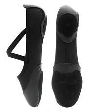 Black Capezio Breeze split sole lycrical ballet shoes - size UK 2