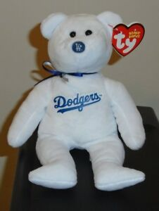 cf43553f66b NEW ~ MLB Ty Beanie Baby Bear ~ LOS ANGELES LA DODGERS 8