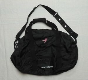 Details About New Balance Gym Bag Black Pink Susan G Komen T Cancer Awareness Duffle