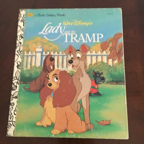 1 of 1 - A LITTLE GOLDEN BOOK. LADY AND THE TRAMP. 030700113X